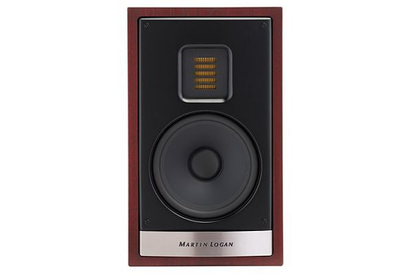 MartinLogan Motion 15i Red Walnut Bookshelf Speaker (Each) - MO15IRW