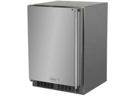"Marvel 24"" Stainless Steel Outdoor Freezer - MO24FAS1LS"