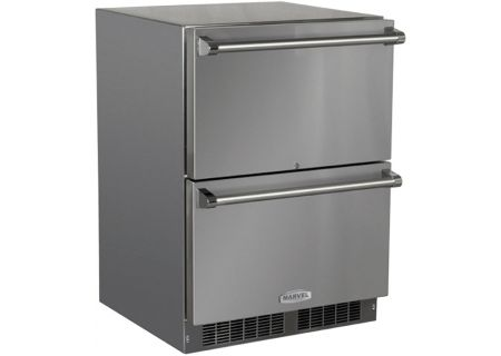 Marvel - MO24RDS3NS - Wine Refrigerators and Beverage Centers