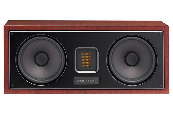 Large image of MartinLogan Motion 30i Red Walnut Center Channel Speaker (Each) - MO30IRW