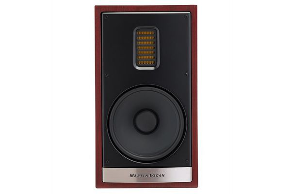 MartinLogan Motion 35XTi Red Walnut Bookshelf Speaker (Each) - MO35XTIRW