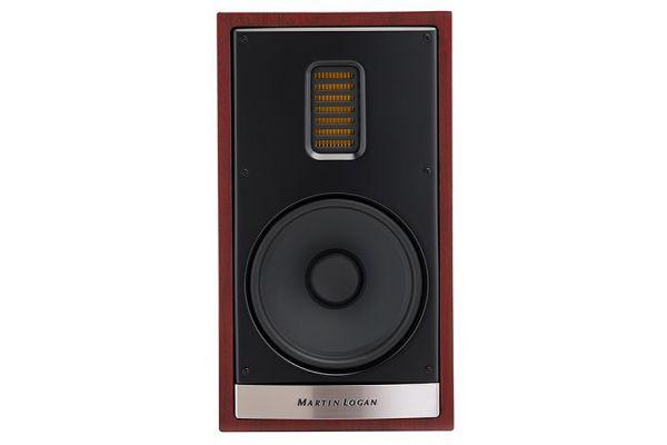 Large image of MartinLogan Motion 35XTi Red Walnut Bookshelf Speaker (Each) - MO35XTIRW