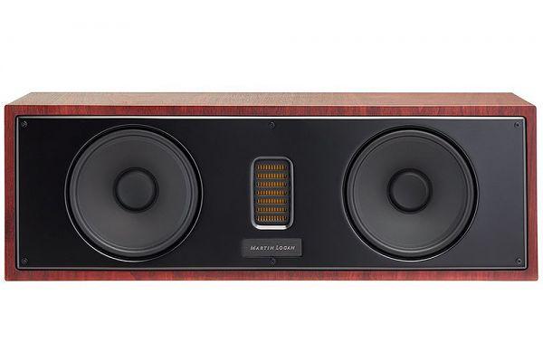 Large image of MartinLogan Motion 50XTi Red Walnut Center Channel Speaker (Each) - MO50XTIRW