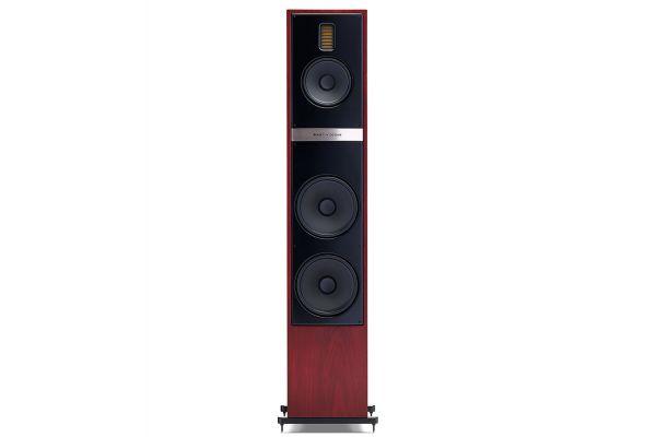 Large image of MartinLogan Motion 60XTi Red Walnut Floorstanding Speaker (Each) - MO60XTIRW