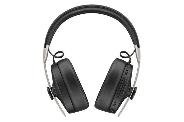 Large image of Sennheiser MOMENTUM Black Over-Ear Wireless Headphones - 508234