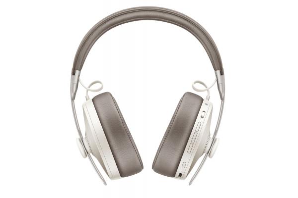 Large image of Sennheiser MOMENTUM White Over-Ear Wireless Headphones - 508235