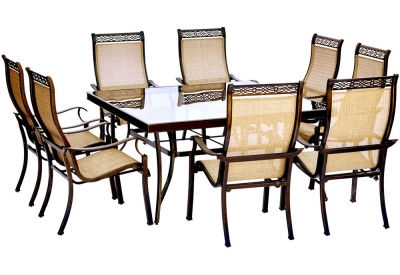 Hanover - MONDN9PCSQG - Patio Dining Sets