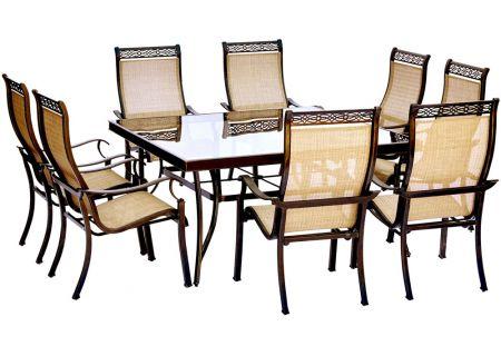Hanover - MONDN9PCSQG - Patio Dining Sets