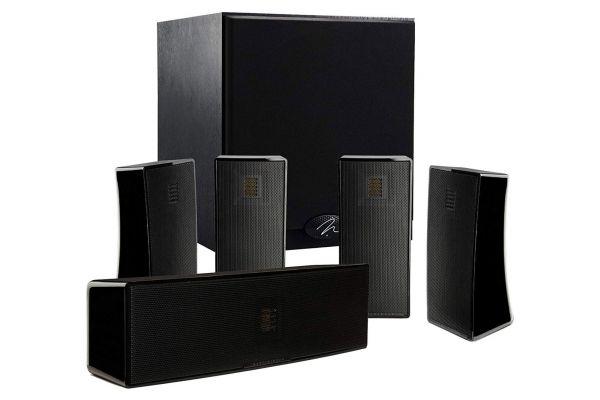 MartinLogan Motion 5.1 Black Home Theater Speaker System - MOT51SYS