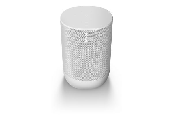 Large image of SONOS Move Lunar White Portable Bluetooth Speaker - MOVE1US1WH