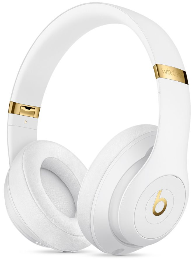 Beats By Dr  Dre White Studio3 Wireless Over-Ear Headphones