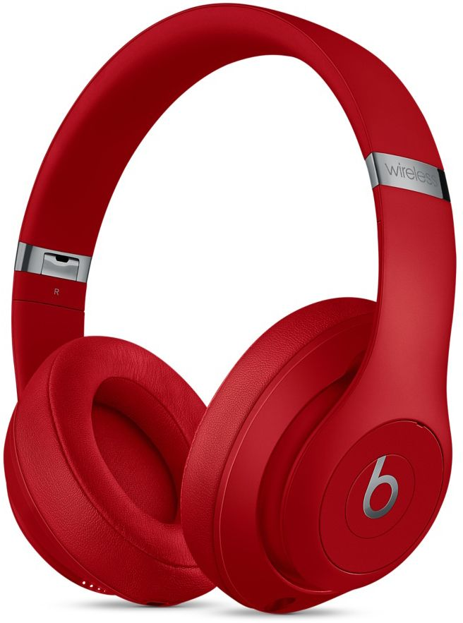 Beats By Dr. Dre Red Studio3 Wireless Over-Ear Headphones - MQD02LL A 8d55d76b927a