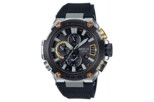 Large image of G-Shock MR-G Black Mens Watch - MRG-G2000R-1ADR