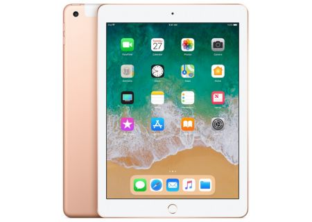 Apple iPad 9.7-Inch 32GB Wi-Fi + Cellular Gold - MRM52LL/A