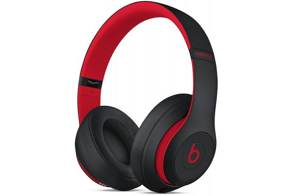 Beats By Dr. Dre Studio3 Decade Collection Defiant Black/Red Wireless Headphones - MRQ82LL/A
