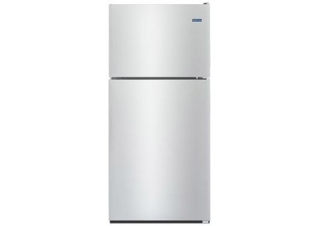 Maytag 21 Cu. Ft. Fingerprint Resistant Stainless Steel Top-Freezer Refrigerator - MRT311FFFZ
