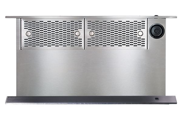 """Large image of Dacor Contemporary 36"""" Graphite Stainless Steel Downdraft For Range - MRV36-ERM"""