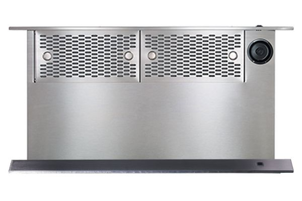 """Large image of Dacor Contemporary 48"""" Graphite Stainless Steel Downdraft - MRV48-ERM"""