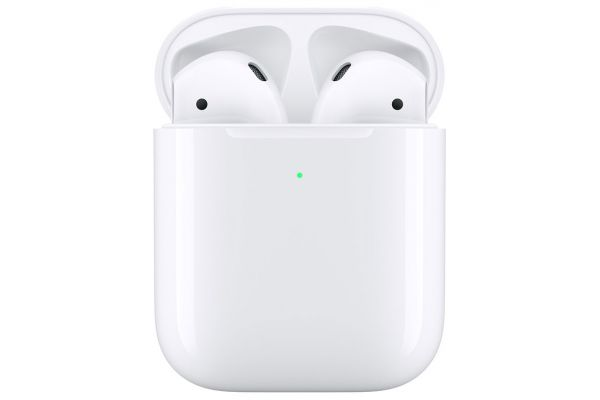 Large image of Apple AirPods 2 with Wireless Charging Case - MRXJ2AM/A