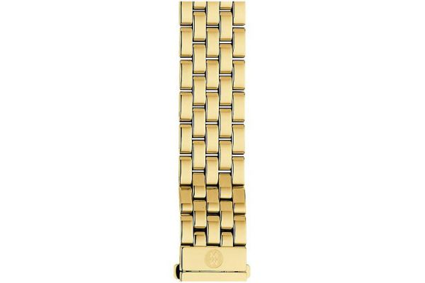 Large image of Michele 16mm Urban Mini 5-Link Gold-Plated Bracelet - MS16AR246710