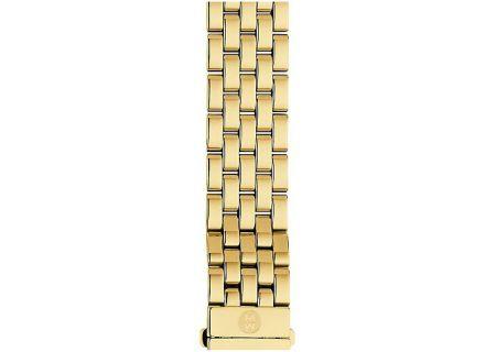Michele 16mm Urban Mini 5-Link Gold-Plated Bracelet - MS16AR246710