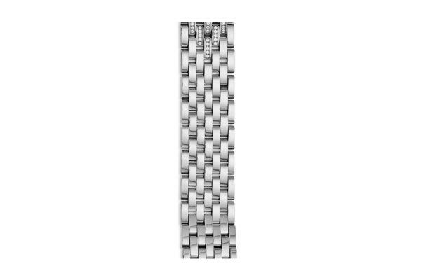 Michele 18mm Sidney Diamond Taper Stainless Steel 7-link Bracelet - MS18GB235009