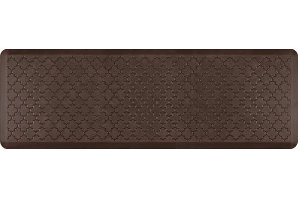 WellnessMats Antique Collection 6x2 Trellis Dark Antique Mat - MT62WMRDB
