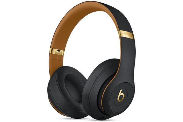 Large image of Beats By Dr. Dre Beats Studio3 Midnight Black Wireless Headphones - MTQW2LL/A