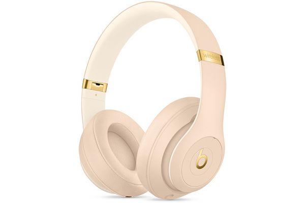 Beats By Dr. Dre Beats Studio3 Desert Sand Wireless Headphones - MTQX2LL/A