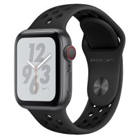 Apple Watch Nike+ Series 4 GPS & Cellular 40mm Space Gray Aluminum Case Anthracite Nike Sport Band