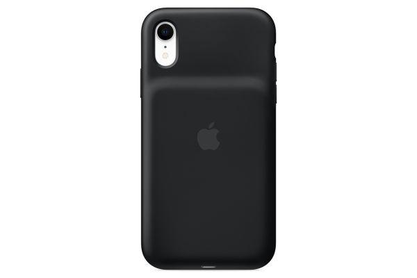Apple iPhone XR Black Smart Battery Case - MU7M2LL/A