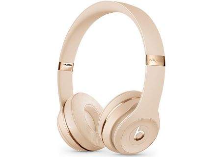 Beats By Dr. Dre Beats Solo3 Satin Gold On-Ear Headphones - MUH42LL/A