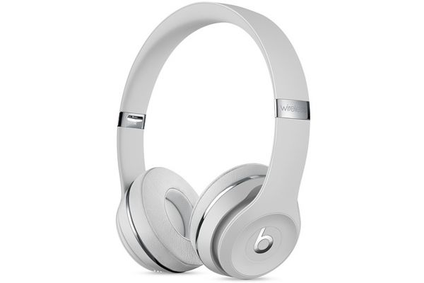 Beats By Dr. Dre Beats Solo3 Satin Silver On-Ear Headphones - MUH52LL/A