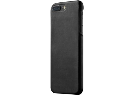 Mujjo Black Leather Case for iPhone 7 Plus / 8 Plus - MUJJO-CS-024-BK