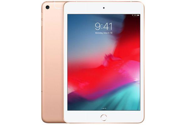 Large image of Apple iPad mini 64GB Wi-Fi And Cellular Gold (2019) - MUXH2LL/A