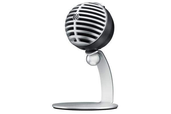 Large image of Shure MV5 Gray Digital Condenser Microphone - MV5/A-LTG