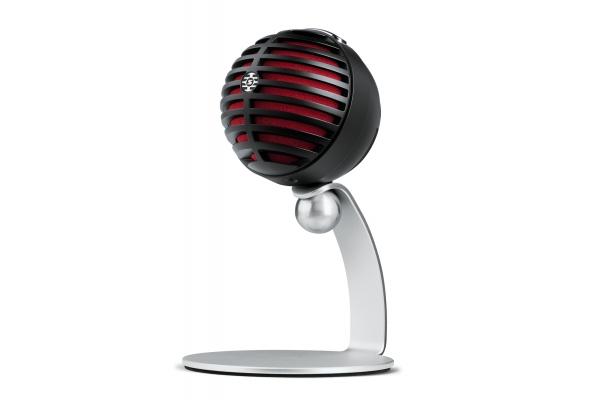 Large image of Shure MV5 Black Home Studio Microphone - MV5-B-DIG