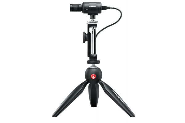 Shure MV88 Digital Stereo Condenser Microphone Video Kit - MV88+ VIDEO KIT