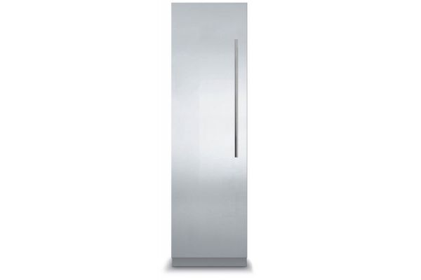 """Viking 18"""" Professional 7 Series Fully Integrated Stainless Steel All Freezer With Virtuoso Panel - MVFI7180WLSS"""