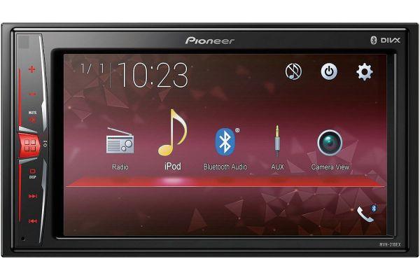 "Pioneer 6.2"" Multimedia Video Receiver - MVH-210EX"