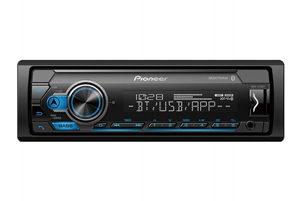 Large image of Pioneer Single DIN Receiver With Bluetooth - MVH-MS310BT