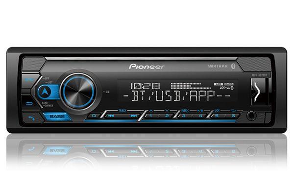 Pioneer Black Digital Media Receiver With Built-In Bluetooth - MVH-S322BT