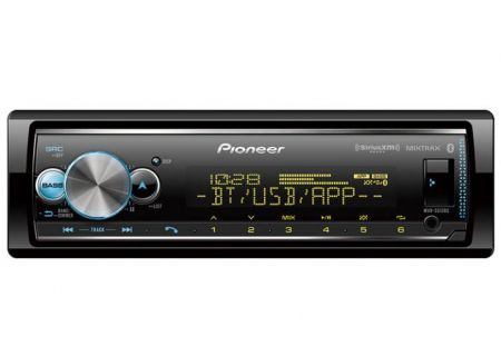 Pioneer Single DIN Receiver With Bluetooth - MVH-S512BS