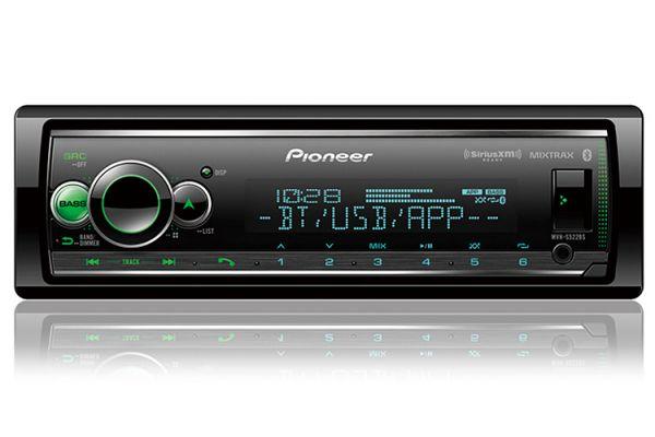 Pioneer Black Digital Media Receiver With Built-In Bluetooth - MVH-S522BS