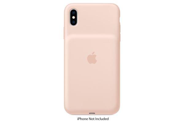 Apple iPhone XS Max Pink Sand Smart Battery Case - MVQQ2LL/A