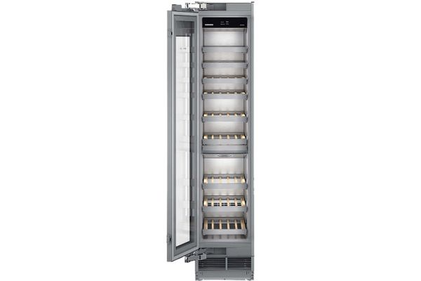 "Large image of Liebherr 18"" Monolith Built-In Left Hinge Dual Zone Wine Cabinet - MW-1801"