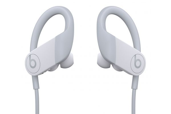 Large image of Beats By Dr. Dre Powerbeats White High-Performance Wireless Earphones - MWNW2LL/A & 13951446