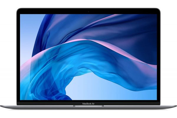 "Large image of Apple MacBook Air 13"" Space Gray Notebook Intel Core i3 8GB RAM 256GB SSD, Intel Iris Plus Graphics (Early 2020) - MWTJ2LL/A"