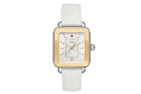 Large image of Michele Deco Sport Two-Tone Womens Watch - MWW06K000014