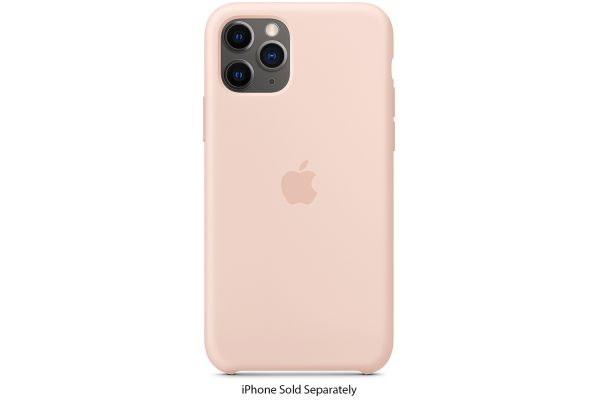 Apple iPhone 11 Pro Pink Sand Silicone Case - MWYM2ZM/A